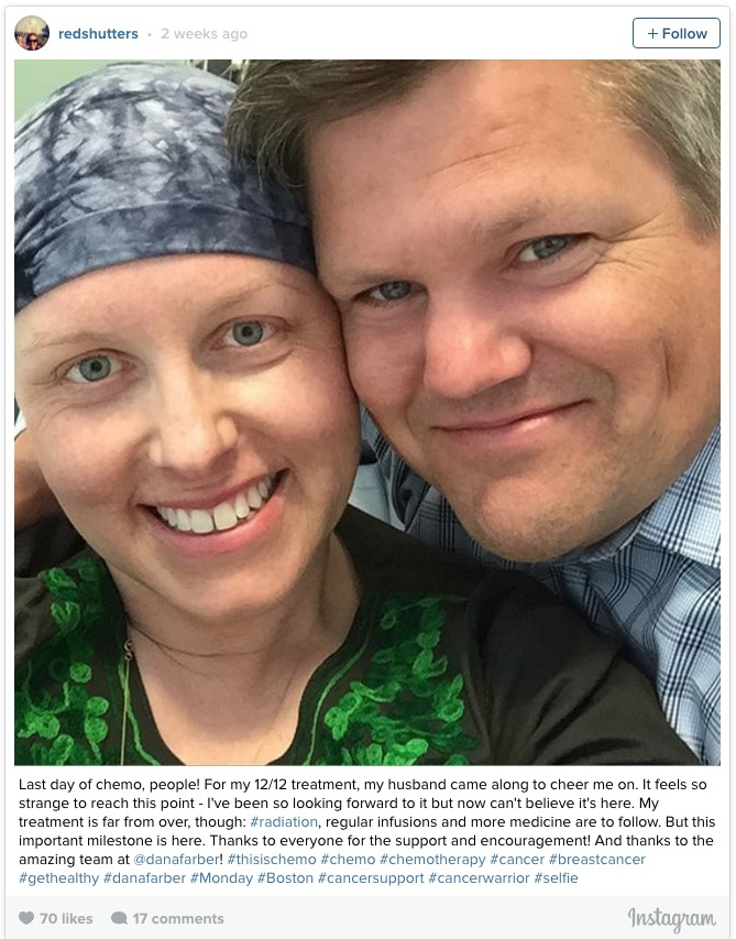 end of chemotherapy
