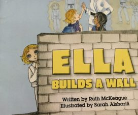 Ella Builds A Wall