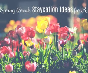 spring break staycation ideas for kids